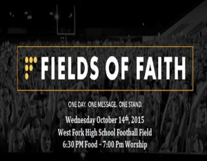 Fields of Faith @ West Fork High School Football Field